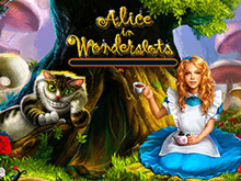Автомат Алиса В Стране Чудес с HD-графикой от Playson